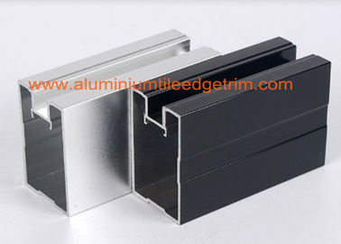 China Extruded Aluminum Extrusion Profiles Channel , Aluminum Profile Extrusions Thermal Break factory