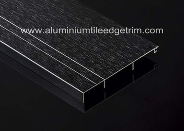 China Black Metal Aluminium Skirting Melbourne / Trunking  / Brisbane Long Durability Around House factory