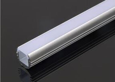 Round Aluminum Square Tubing , Aluminium Housing For LED Strip Lights 2m Length