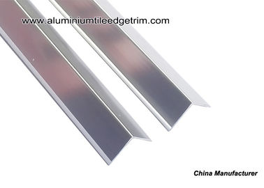 V15 Anodized Gloss Silver Aluminum Corner Guards V Shaped Splint With 1.5cm Width