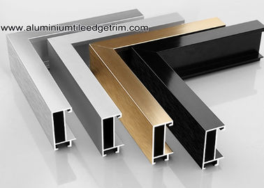 Wide Edge Metal Aluminium Picture Frame Mouldings For Gallery