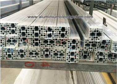 T Slot / Slotled Aluminum Alloy Industry Extrusion Profiles For Industry Assemble